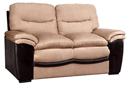 Glory Furniture G197-L Living Room Love Seat, Beige
