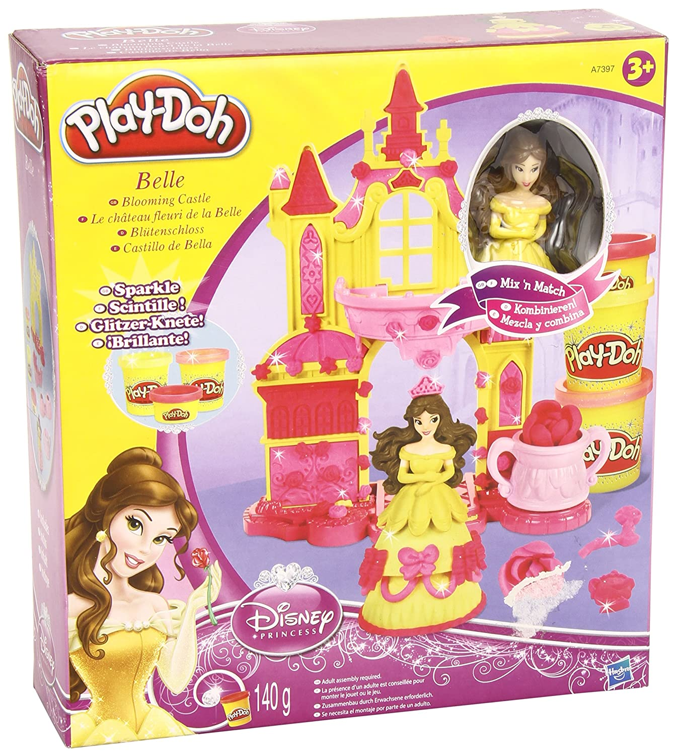 Disney Princess Play Doh Castle Play-doh Disney Princess