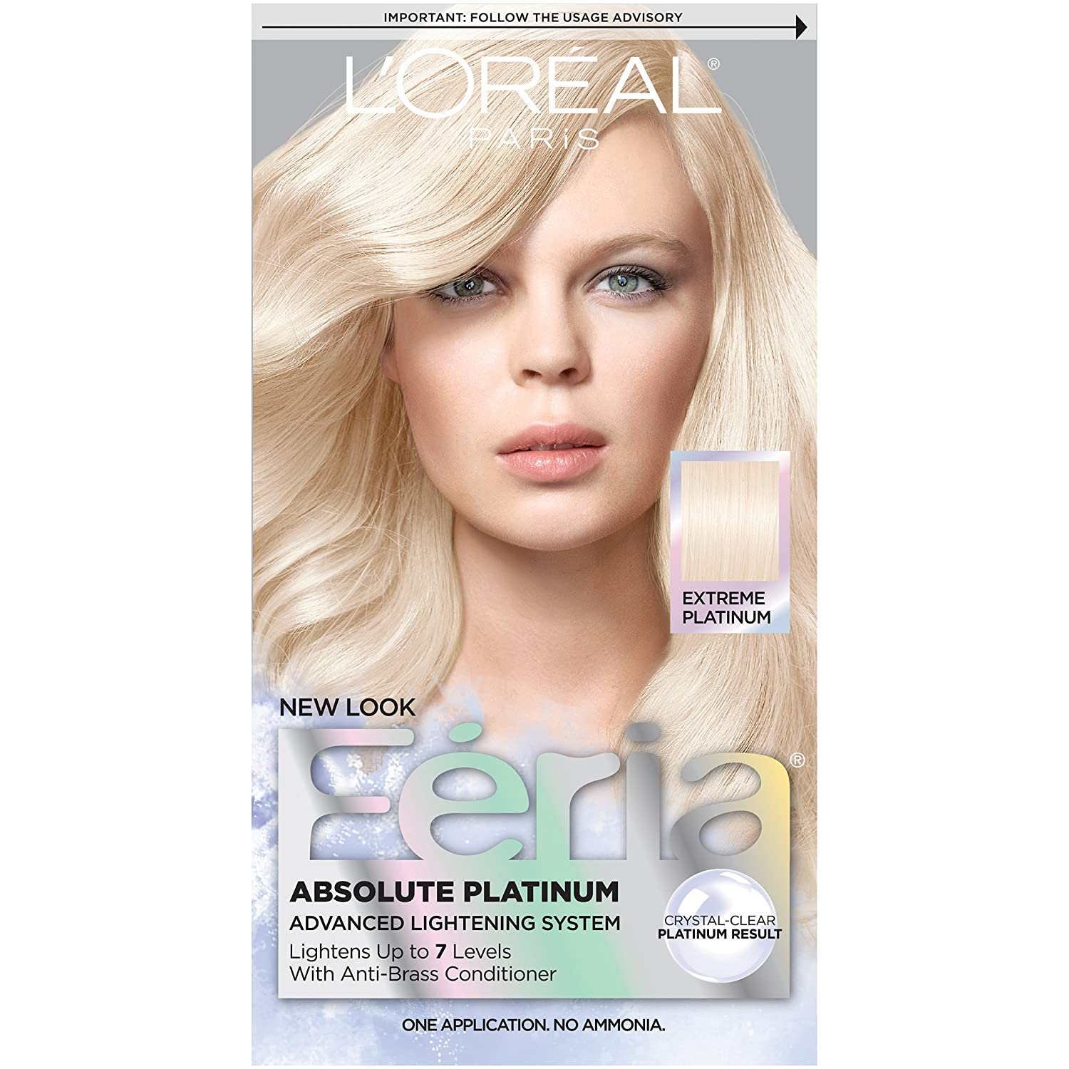 Buy L'Oreal Paris Feria, Extra Bleach Blonde 205 Online at Low ...