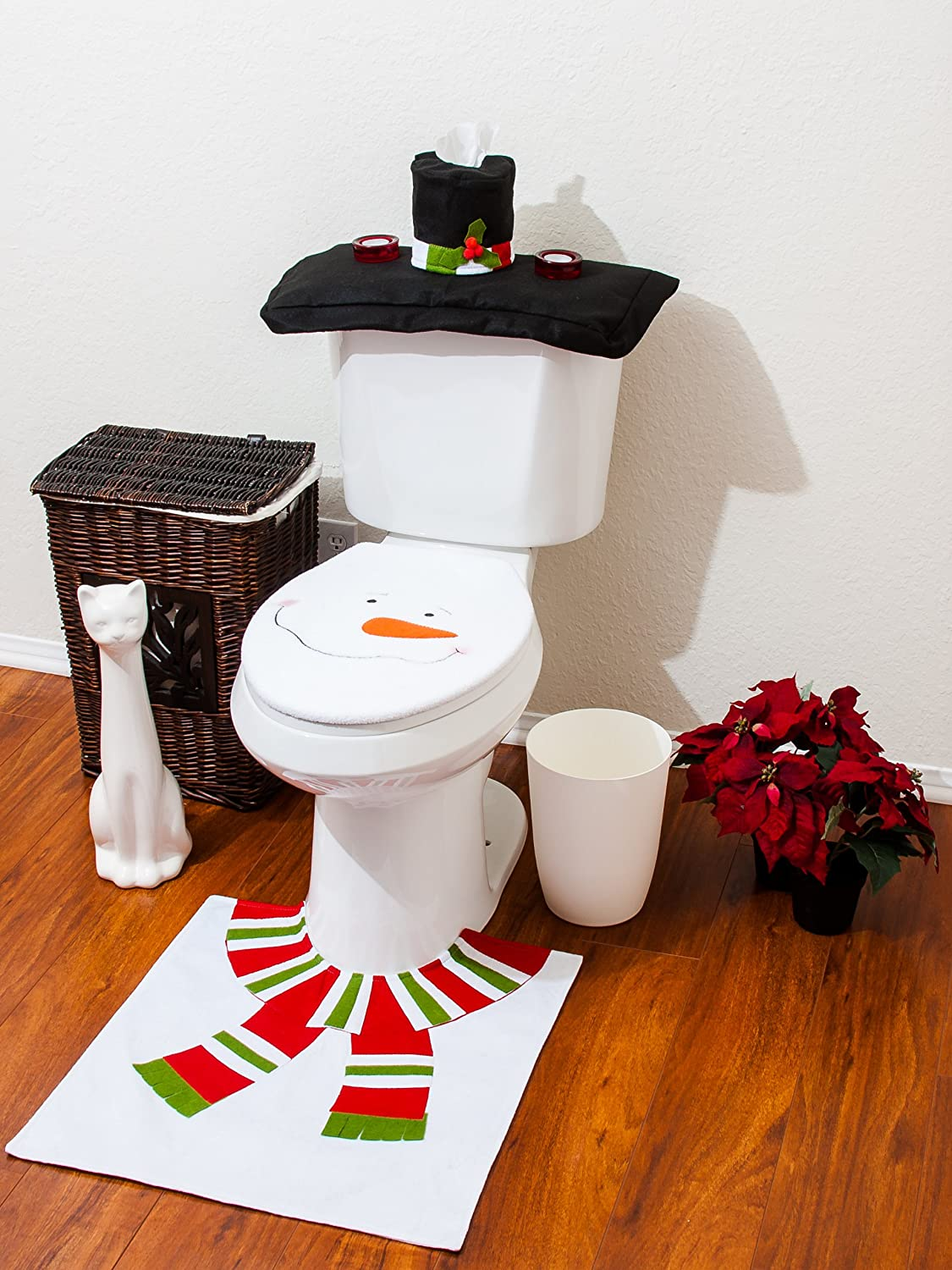 Christmas Toilet Seat Cover | eBay