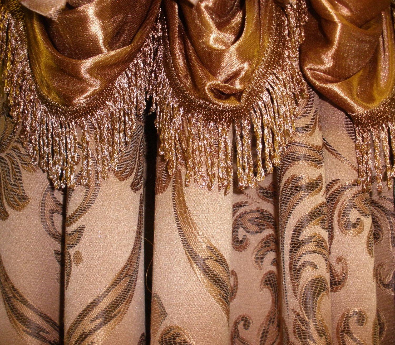 Penelopie Jacquard Look Curtain Panels