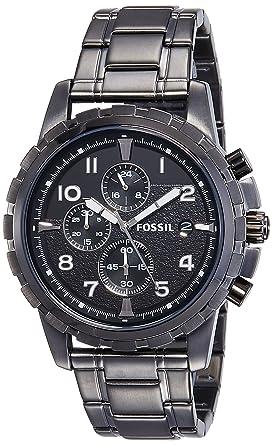 buy fossil dean chronograph analog black dial men s watch fs4721 fossil dean chronograph analog black dial men s watch fs4721