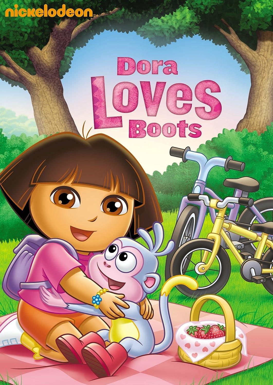 http://www.amazon.com/Dora-Explorer-Loves-Boots/dp/B005UPOBM8/