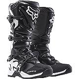 Fox Racing Comp 5 Men's Off-Road Motorcycle Boots - Black / Size 10 (Color: Black, Tamaño: 10)