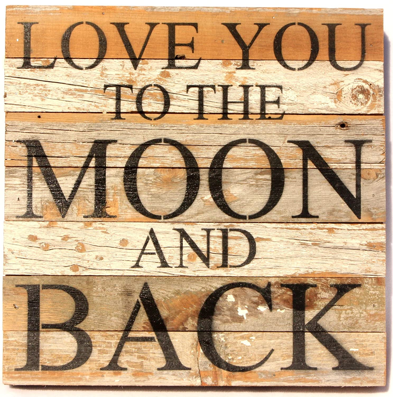 Love You To The Moon And Back Wall Decorations | Valentine\'s Day Wikii