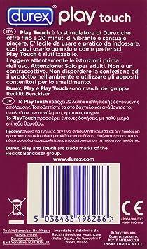 durex play touch stimulateur stimulateur sextoy stimulateur clitoris hygi ne et et soins. Black Bedroom Furniture Sets. Home Design Ideas