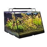 Lifegard Aquatics R800207 Full-View 7 Gallon Aquarium with Built-in Back Filter (Tamaño: 7 gal Tank + Filter)