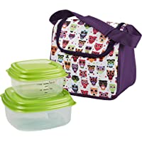 Morgan Kids' Insulated Lunch Bag with Reusable Containers