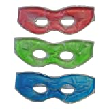 3 Pack Soothing Therapeutic Gel Eye Masks-Hot or Cold With Adjustable Strap  Relieve Stress 57baa5da71