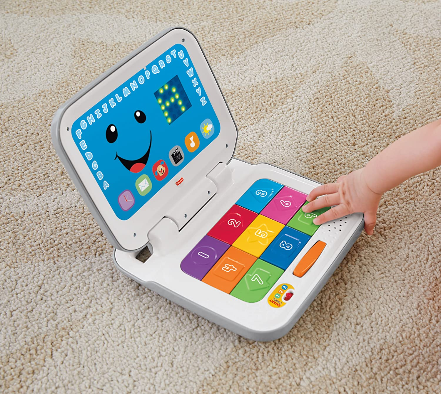Amazon.com: Fisher-Price Laugh & Learn Smart Screen Laptop ...