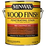 Minwax 710890000 Wood Finish - Penetrates, Stains & Seals, 250 VOC, gallon, Red Chestnut (Color: Red Chestnut, Tamaño: 250 VOC)