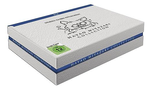 Hayao Miyazaki Collection, Blu-ray