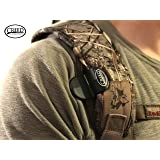 Sling Saddle Shoulder Clip & Belt Combo, By Creed Outdoor Products, Carry Your Rifle HANDS FREE, Easily Hooks to your Rifle Sling and holds your gun securely to your body. (Black) (Color: Black (1 Shoulder Clip Only))