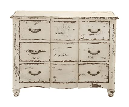 Coolly Rustic Wood Chest of Drawer