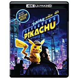 Pokemon Detective Pikachu [4K Ultra HD + Blu-ray]