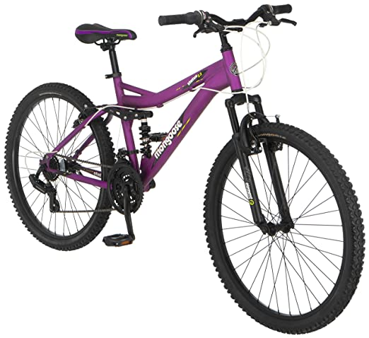 Mongoose-Women's-Status-2.2-Full-Suspension-Bicycle-features