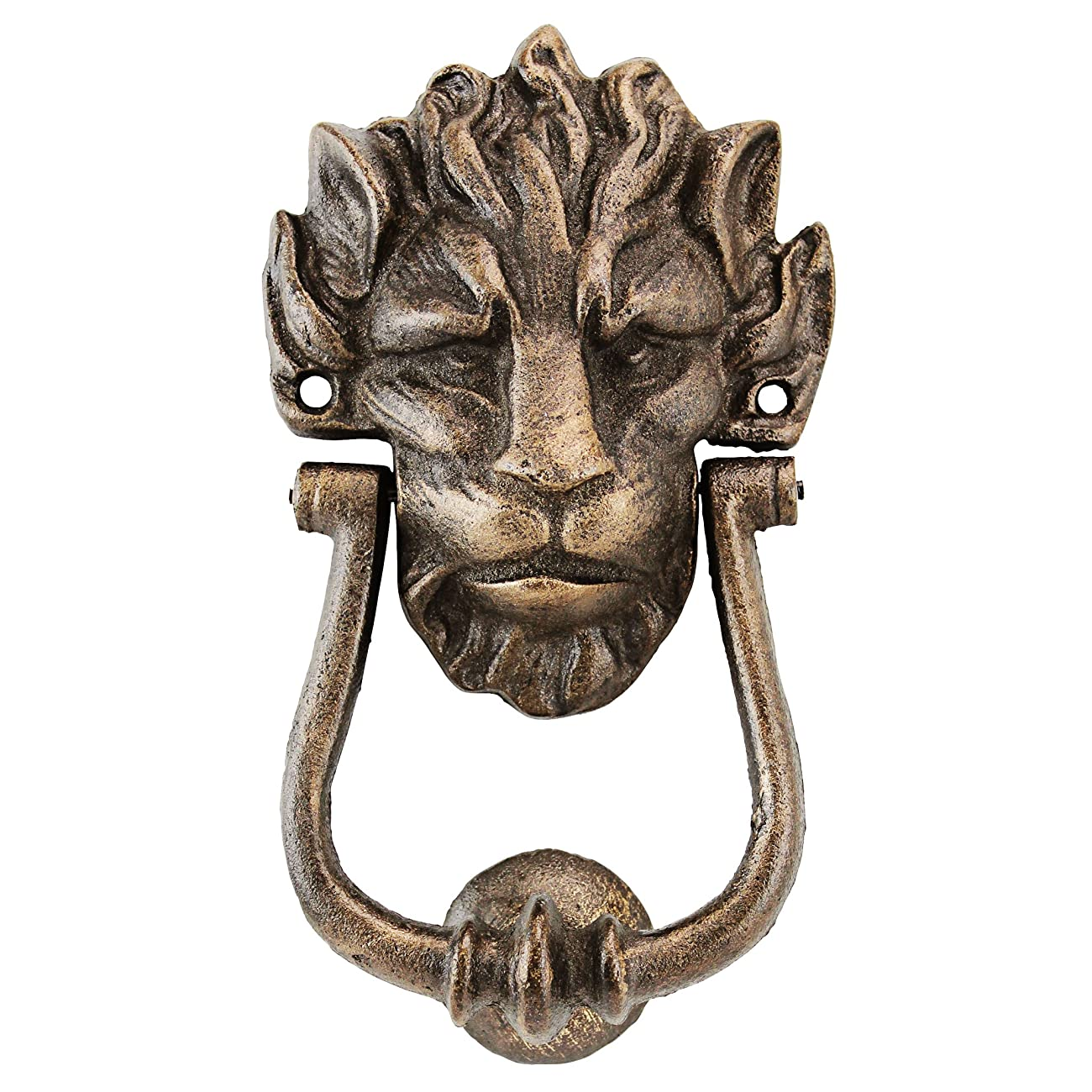 Design Toscano 10 Downing Street Lion Authentic Foundry Door Knocker 0