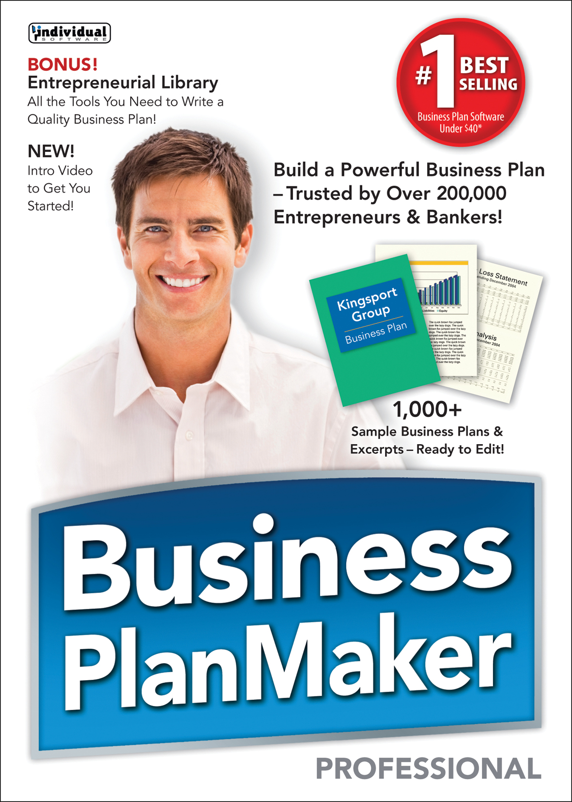 business plan maker professional deluxe 11 top business plan