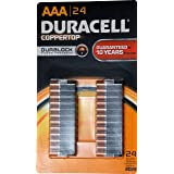Duracell Coppertop AAA Batteris, 24 pack, Made in USA