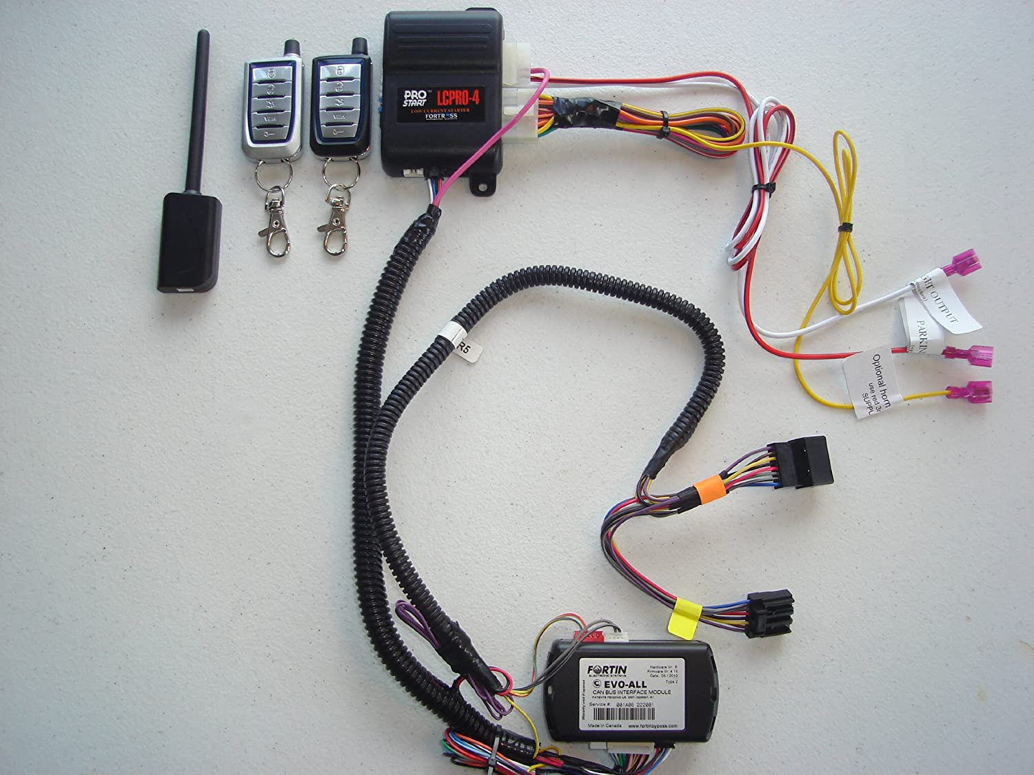 Remote Starter Kit w/ Keyless Entry for Jeep Compass - True Plug & Play Installation