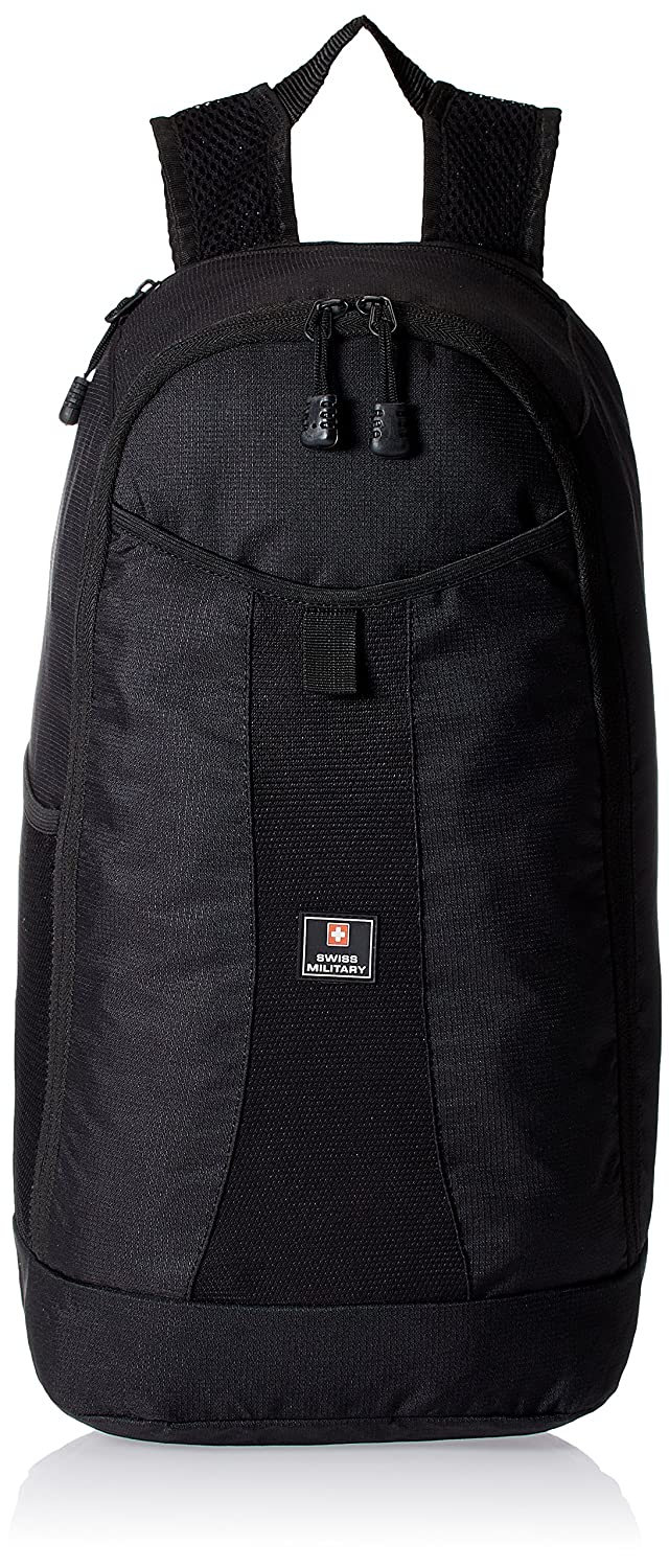 Amazon: Swiss Military 10 liters Black Casual Backpack @ Rs.545/- (50% OFF)
