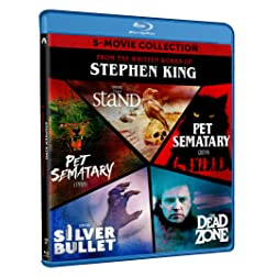 Stephen King 5-Movie Collection [Blu-ray]