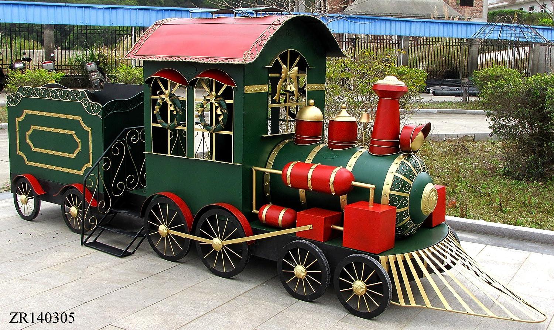 145 Long, Unique Christmas Train with Cart