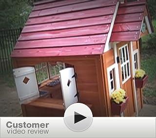backyard discovery cedar outdoor playhouse specs price release