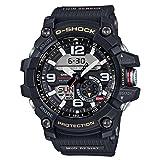 Men's Casio G-Shock Twin Sensor Mudmaster Black Watch GG1000-1A (Color: Black, Tamaño: One Size)
