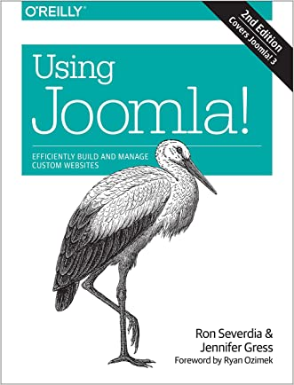 Using Joomla! written by Ron Severdia