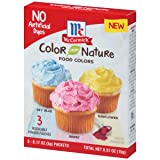 McCormick Color From Nature, 0.51 oz (Color: Sky Blue, Berry & Sunflower Colors, Tamaño: 2 fl oz)