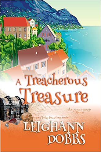 A Treacherous Treasure (Mooseamuck Island Cozy Mystery Series Book 3)