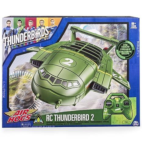 """Air Hogs 15309801,7cm Thunderbird 2Heli """"moulé sous pression jouet"""