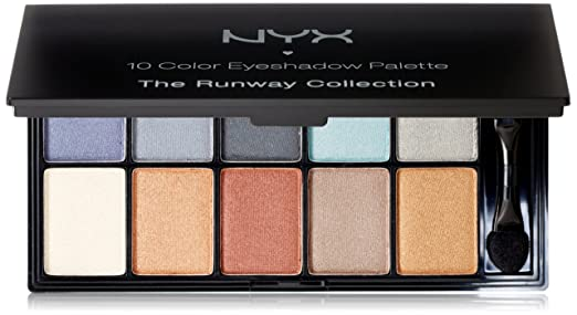 NYX Cosmetics Eye Shadow Palette 10 ...