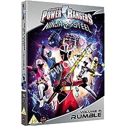 Power Rangers Ninja Steel: Rumble Volume 4 Episodes 13-16 & Halloween