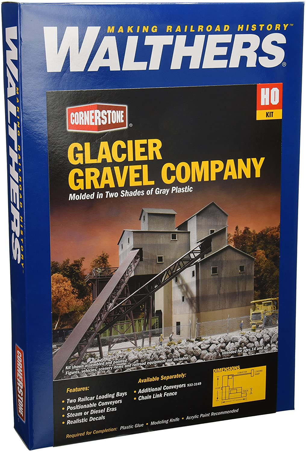 ho Scale Gravel ho Scale Glaciar Gravel