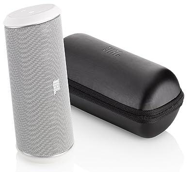 JBL FLIP II - Altavoz portátil Bluetooth de 12W, blanco