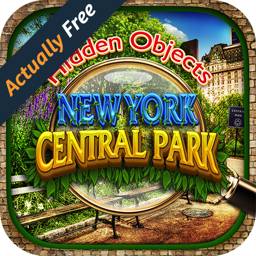 Hidden Object Central Park New York City - Gardens Pic Puzzle Objects Seek & Find FREE Game (New York Pics compare prices)