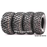 Set of 4 New WANDA ATV/UTV Tires 25x8-12 Front & 25x10-12 Rear /6PR P350 - 10163/10165 …