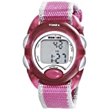 Timex Kids' T7B9809J IronKids Translucent Pink Resin Strap Watch (Color: Pink)
