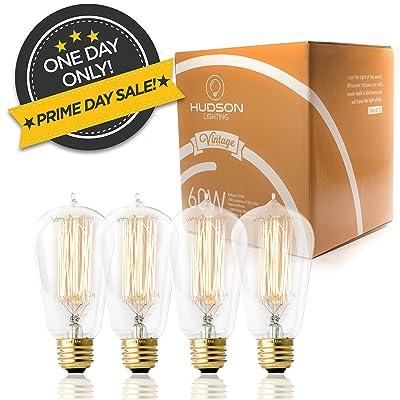 4 Pack - 60 watt Vintage Edison Bulb