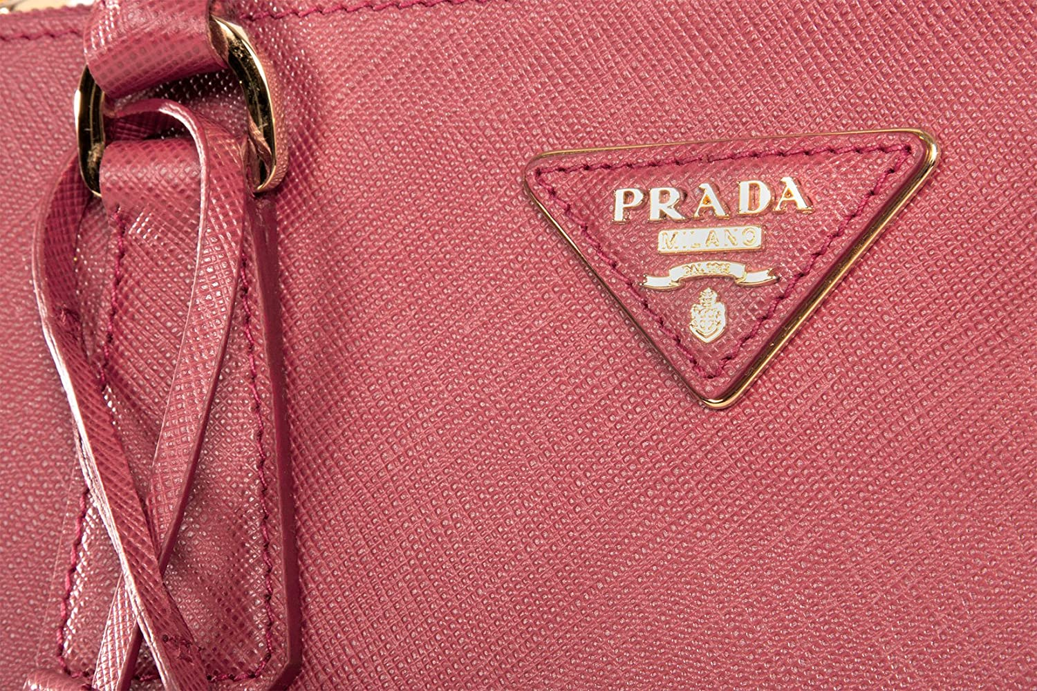 Prada BN2274 Authentic Bag - Pink Brughiera Saffiano Lux Calf ...