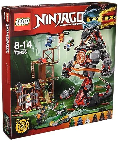 LEGO - 70626 - NINJAGO - Jeu de Construction - L'attaque de la prison Vermillion