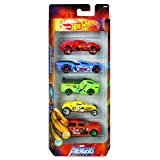 Marvel Avengers Assemble Themed 5 Pack Cars By Hot Wheels