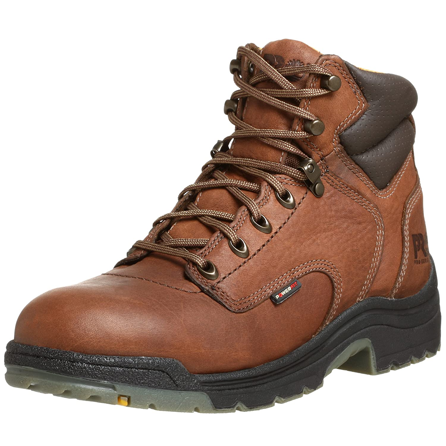 Timberland Pro Men's Titan 6 Soft Toe Boot,Coffee,10.5 M