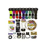 Cousin DIY 39999920 Bundle Kit Ultimate Paracord and Beading, Multi (Color: Multi)