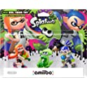3-Pack Nintendo amiibo Splatoon Girl/Squid/Boy Gaming Character
