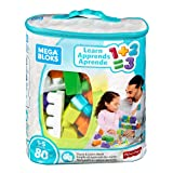 Mega Bloks Building Basics Stack & Learn Math (Color: Tg)