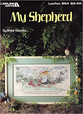 My Shepherd - Cross Stitch Sampler (Leisure Arts, Leaflet 864)