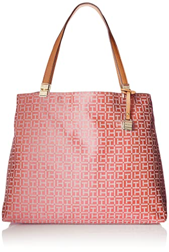 Tommy Hilfiger Hinge Jacquard Travel Tote Bag - tote bags - tote handbags - handbags for women
